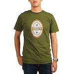 100% Genuine Birder Organic Men's T-Shirt (dark)