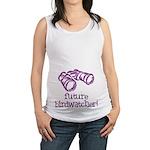 Future Birdwatcher Maternity Tank Top