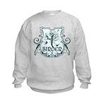 Gothic Birder Shield Kids Sweatshirt