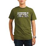 Extinction is Forever Organic Men's T-Shirt (dark)