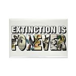 Extinction is Forever Rectangle Magnet