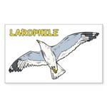 Larophile Sticker (Rectangle)
