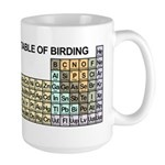 Periodic Table of Birding Large Mug