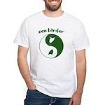 Zen Birder White T-Shirt