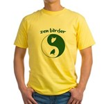 Zen Birder Yellow T-Shirt