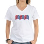 Marquee Birder Women's V-Neck T-Shirt