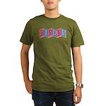 Marquee Birder Organic Men's T-Shirt (dark)