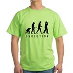 Evolution: Birder Green T-Shirt