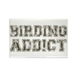 Birding Addict Rectangle Magnet