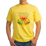 Birding With You Yellow T-Shirt