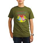 Birding With You Organic Men's T-Shirt (dark)