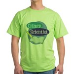 Citizen Scientist Green T-Shirt