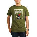 got pecker? Organic Men's T-Shirt (dark)