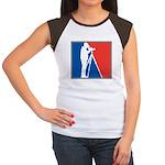 Major League Birder Women's Cap Sleeve T-Shirt