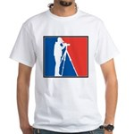 Major League Birder White T-Shirt