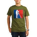 Major League Birder Organic Men's T-Shirt (dark)