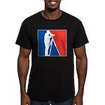 Major League Birder Men's Fitted T-Shirt (dark)