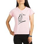 Stylized Kingfisher Performance Dry T-Shirt
