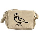 Stylized Lark Messenger Bag