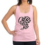 Stylized Turkey Racerback Tank Top