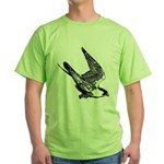 Peregrine Sketch Green T-Shirt