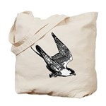 Peregrine Sketch Tote Bag