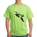 Bufflehead Sketch Green T-Shirt