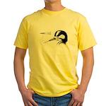 Woodpecker Tongue Anatomy Yellow T-Shirt