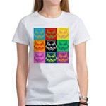 Pop Art Owl Face Women's T-Shirt