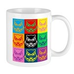 Pop Art Owl Face Mug