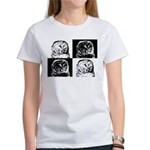 Barred Owl Pop Art Women's T-Shirt