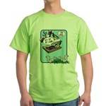 Get Off My Lawn! Green T-Shirt