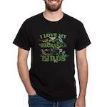 I Love My Backyard Birds Dark T-Shirt