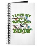 I Love My Backyard Birds Journal