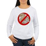Anti-Squirrel Women's Long Sleeve T-Shirt
