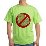 Anti-Squirrel Green T-Shirt