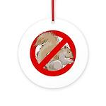 Anti-Squirrel Ornament (Round)