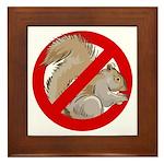 Anti-Squirrel Framed Tile