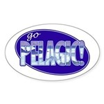 Go Pelagic! Sticker (Oval)