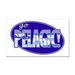 Go Pelagic! Rectangle Car Magnet