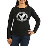 Snowy Owl Irrupti Women's Long Sleeve Dark T-Shirt