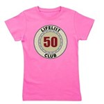 Lifelist Club - 50 Girl's Tee