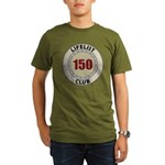 Lifelist Club - 150 Organic Men's T-Shirt (dark)