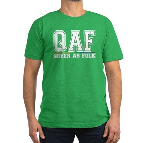QAF Queer as Folk Men's Dark Fitted T-Shirt
