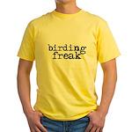 Birding Freak Yellow T-Shirt