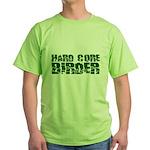 Hard Core Birder Green T-Shirt