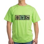 Elements of Birding Green T-Shirt