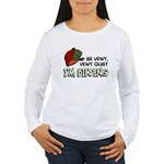 Be Vewy Quiet I'm Bird Women's Long Sleeve T-Shirt
