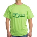 Finding Birds Green T-Shirt