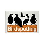 Birdspotting Rectangle Magnet